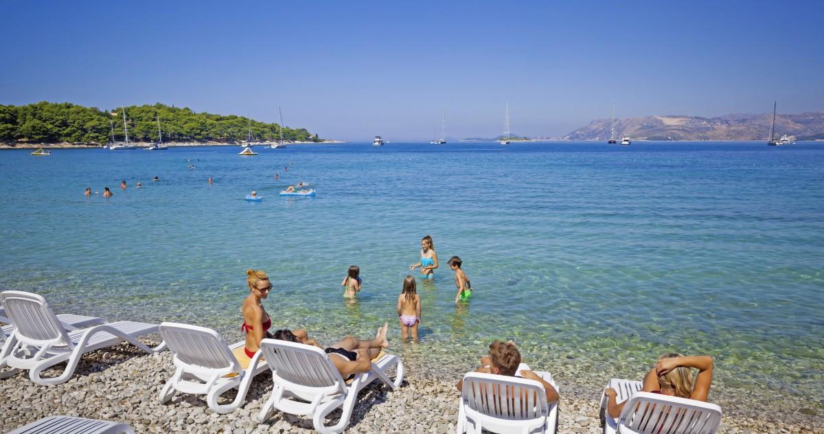 Hotel Albatros Croatia Cavtat Is It A Public Beach